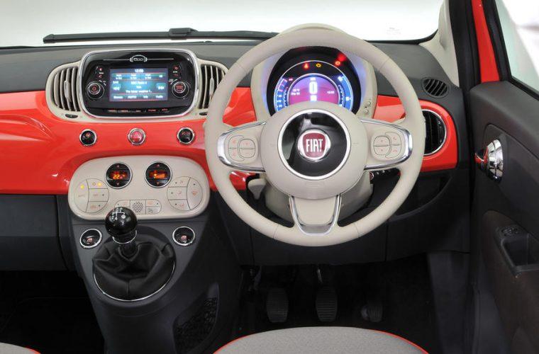 Fiato 500 interno auto usate italia